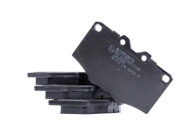 Bremsbelagsatz, Scheibenbremse Breite: 107,4mm, Höhe: 66,1mm, Dicke/Stärke: 15,5mm mit OEM-Nummer 04465 60010