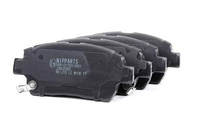 Bremsbelagsatz, Scheibenbremse J3602088 OE Nummer J3602088