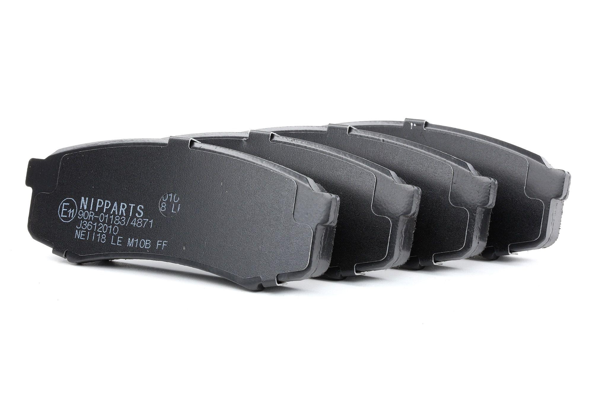 Bremsbelagsatz NIPPARTS J3612010 Bewertung