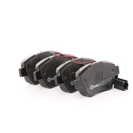 Bremsbelagsatz, Scheibenbremse Breite: 122,8mm, Höhe: 53,3mm, Dicke/Stärke: 17,8mm mit OEM-Nummer 71770118