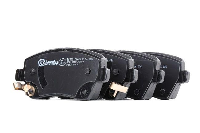 BREMBO mit akustischer Verschleißwarnung P56086