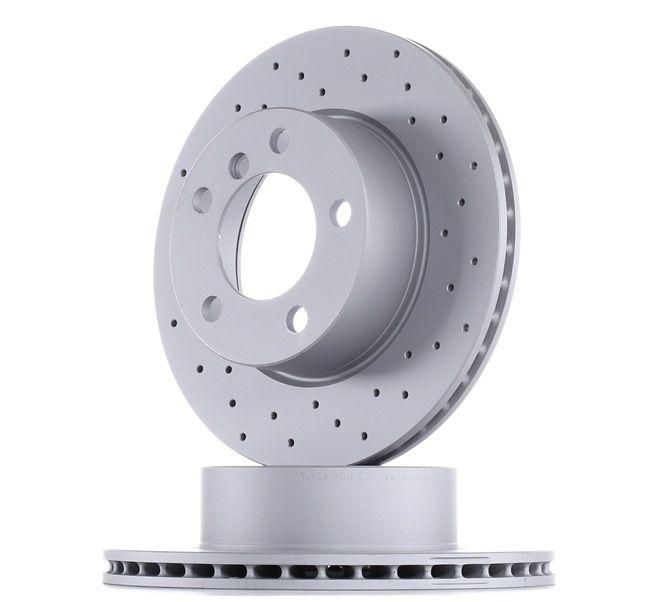 Bremsscheibe Bremsscheibendicke: 22mm, Felge: 5-loch, Ø: 284mm mit OEM-Nummer 34116792215