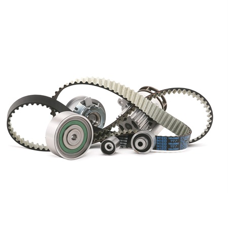 Water Pump & Timing Belt Set: DAYCO 7547950