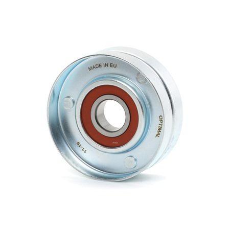 Polea tensora correa alternador OPTIMAL 7569325 Ø: 70mm, sin soporte
