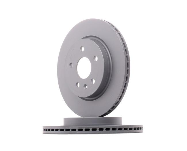 OEM Спирачен диск ZIMMERMANN 7586230 за OPEL