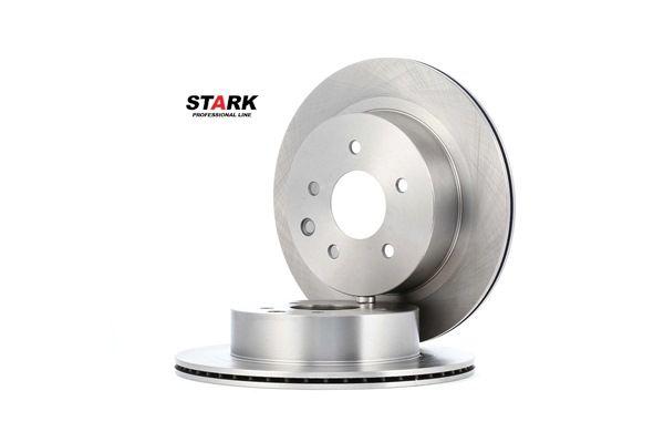 STARK Hinterachse, Innenbelüftet, ohne Radbefestigungsbolzen, ohne Radnabe SKBD0020155