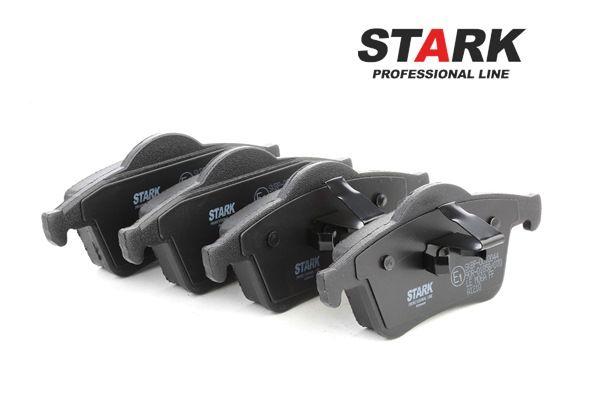 Bremseklosser STARK 7588744 bakaksel, ekskl. slitasjevarselkontakt