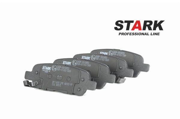 STARK Hinterachse, mit akustischer Verschleißwarnung SKBP0010053