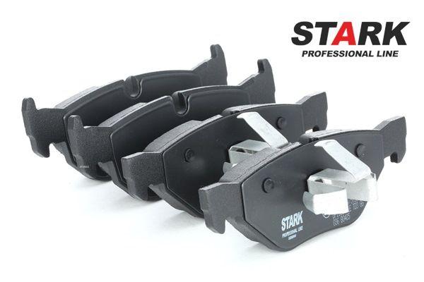 STARK Hinterachse, für Verschleißwarnanzeiger vorbereitet, mit Kolbenclip SKBP0010070