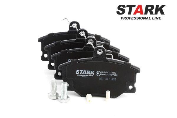 Brake Pad Set, disc brake SKBP-0010117 PUNTO (188) 1.2 16V 80 MY 2002
