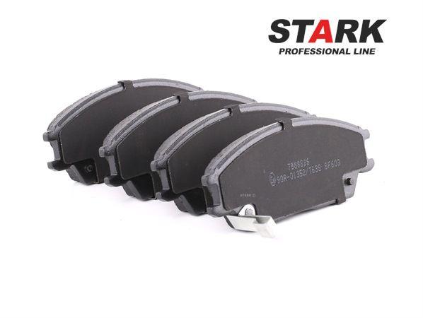 Bremsbelagsatz, Scheibenbremse Breite 1: 127,4mm, Höhe 1: 49mm, Dicke/Stärke 1: 14,9mm mit OEM-Nummer 45022-SA6-600