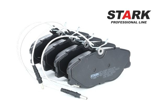 STARK Vorderachse, inkl. Verschleißwarnkontakt SKBP0010175