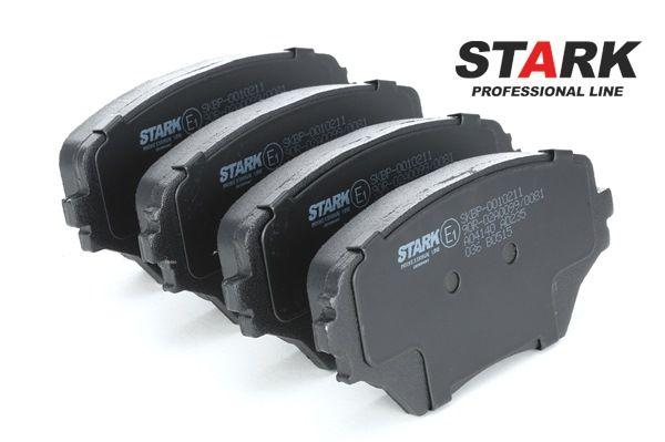 Brake pads STARK 7588898 with mounting manual