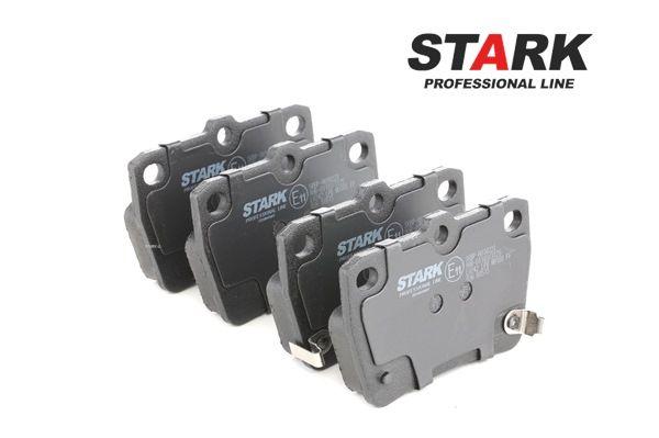 Brake Pad Set, disc brake SKBP-0010223 RAV 4 II (CLA2_, XA2_, ZCA2_, ACA2_) 2.0 MY 2003