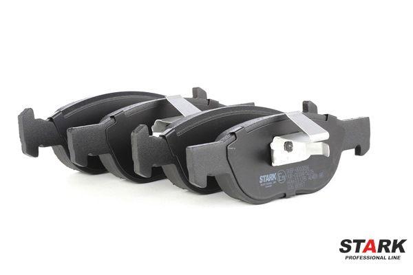 Brake Pad Set, disc brake SKBP-0010286 PUNTO (188) 1.2 16V 80 MY 2002
