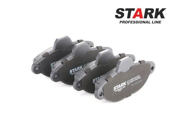Brake Pad Set, disc brake SKBP-0010307 PANDA (169) 1.2 MY 2012