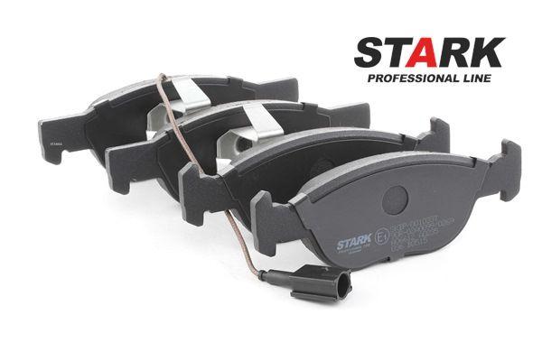 Brake Pad Set, disc brake SKBP-0010337 PUNTO (188) 1.2 16V 80 MY 2000