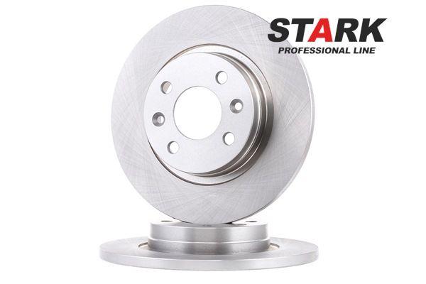 Bremsscheibe Bremsscheibendicke: 12mm, Lochanzahl: 4, Ø: 259mm mit OEM-Nummer 8200123117