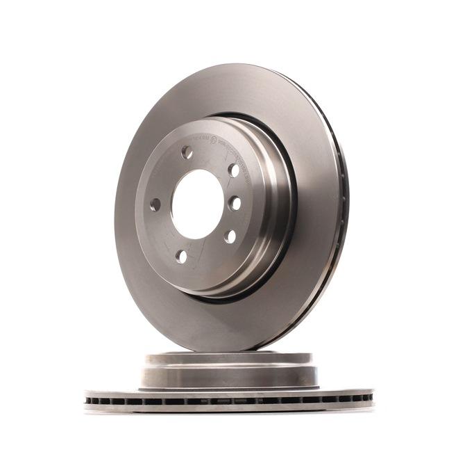 Bremsscheibe Bremsscheibendicke: 20mm, Lochanzahl: 5, Ø: 320mm mit OEM-Nummer 34216753215