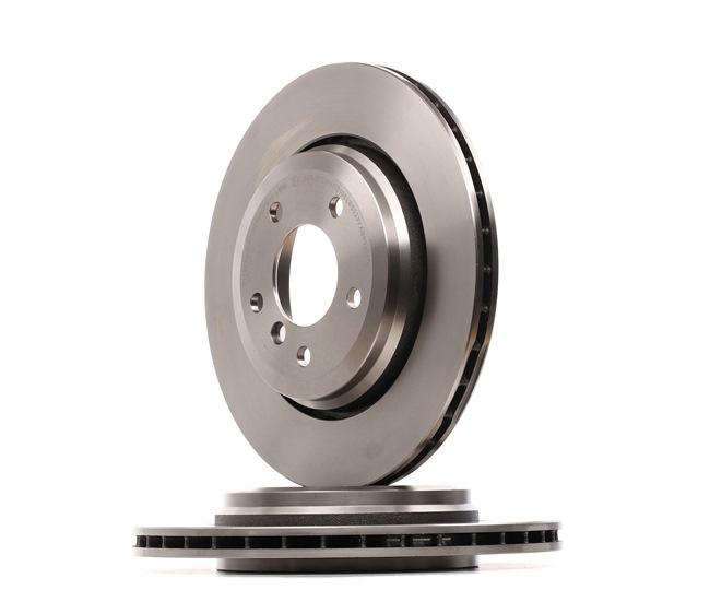 Bremsscheibe Bremsscheibendicke: 22mm, Lochanzahl: 5, Ø: 320mm mit OEM-Nummer 6855157