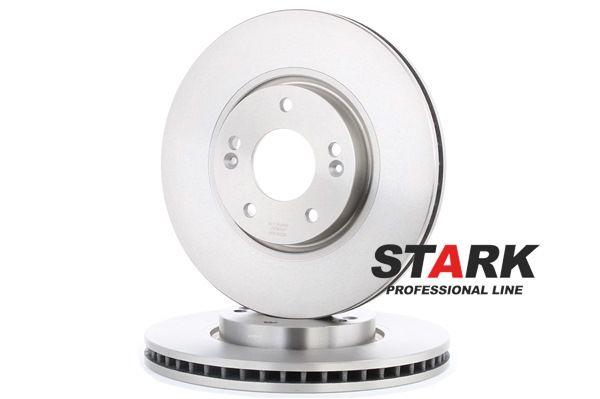 Frenos de disco STARK 7607193 Eje delantero, Ventilación interna, sin buje de rueda, sin perno de sujeción de rueda