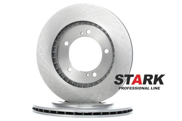 Frenos de disco STARK 7607700 Eje delantero, ventilado