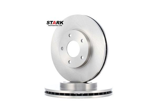 STARK Vorderachse, Innenbelüftet, ohne Radbefestigungsbolzen, ohne Radnabe SKBD0020113