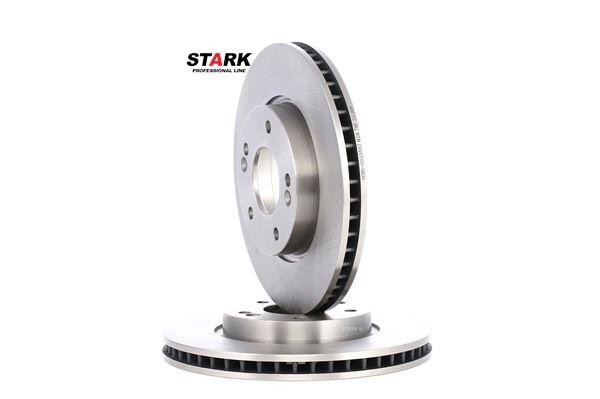 Frenos de disco STARK 7607745 Eje delantero, Ventilación interna