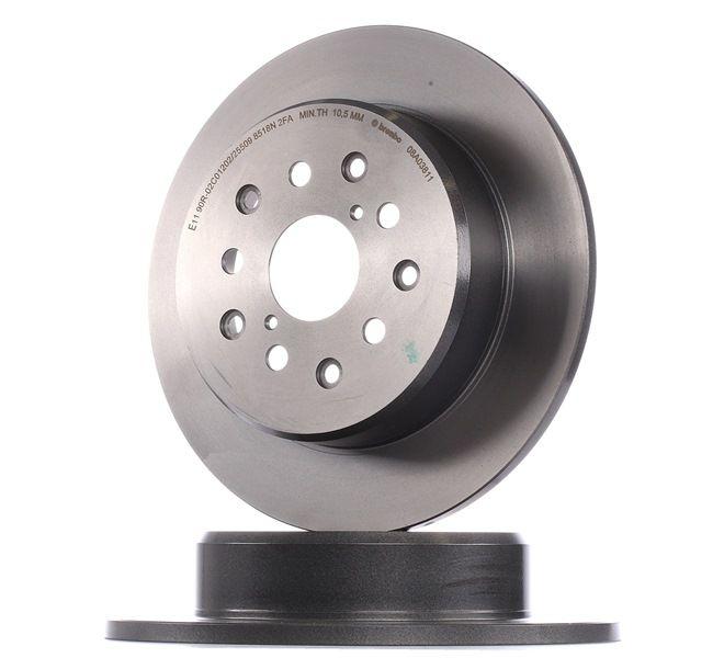 BREMBO 08A03811 Disc brake set
