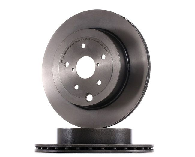 Bremsscheibe Bremsscheibendicke: 20mm, Lochanzahl: 5, Ø: 316mm mit OEM-Nummer 26700 FG010