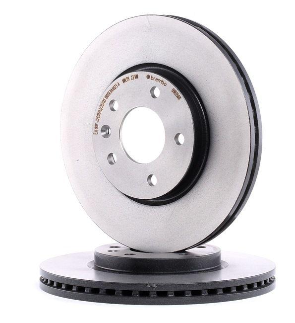 Frenos de disco BREMBO 7611790 Ventilación interna, revestido, altamente carbonizado