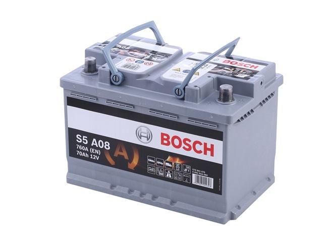 BOSCH S5 Batteria auto 70Ah, 12V, 760A, B13, Batteria AGM, L3