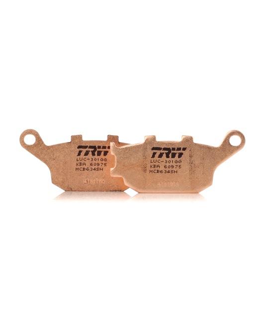 OEM Комплект спирачно феродо, дискови спирачки TRW MCB634SH