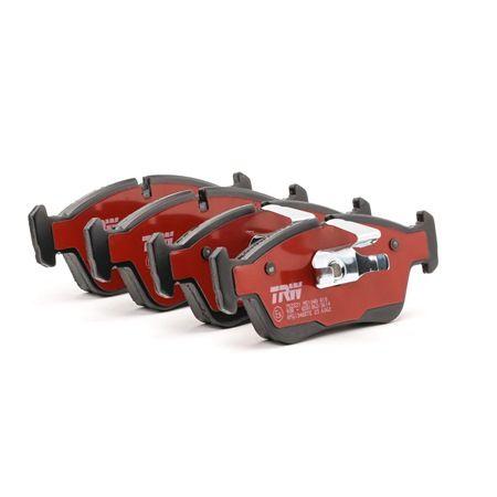 Bremsbelagsatz, Scheibenbremse Höhe: 57,5mm, Dicke/Stärke: 17,5mm mit OEM-Nummer 34212157575