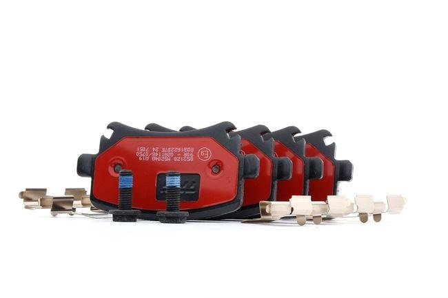 Bremsbelagsatz, Scheibenbremse Höhe: 56,0mm, Dicke/Stärke: 17,0mm mit OEM-Nummer JZW698451D