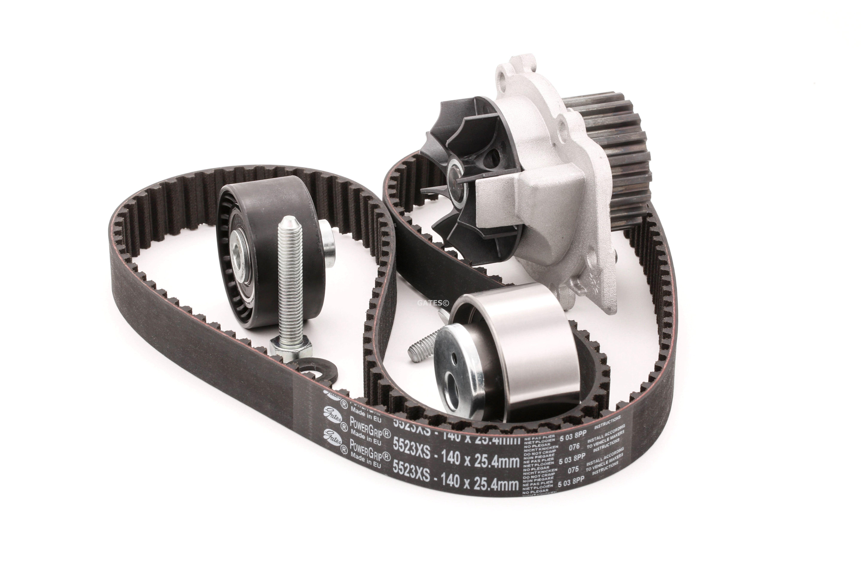 Water Pump + Timing Belt Kit GATES K025523XS rating