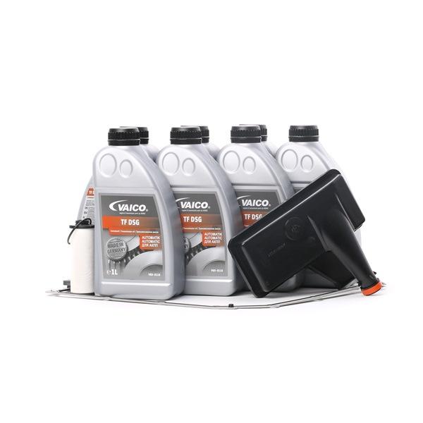 VAICO Teilesatz, Ölwechsel-Automatikgetriebe 7l, 0B5, DL501, DSG, S-Tronic (DL501), mit Dichtung, mit Dichtring, mit Ölmenge für Standardölwechsel