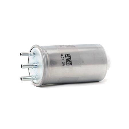 MANN-FILTER Palivovy filtr Filtr zabudovaný do potrubí