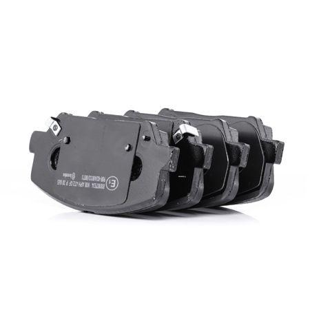 Bremsbelagsatz, Scheibenbremse Breite: 140,7mm, Höhe: 59,9mm, Dicke/Stärke: 17,3mm mit OEM-Nummer 58101-2VA20