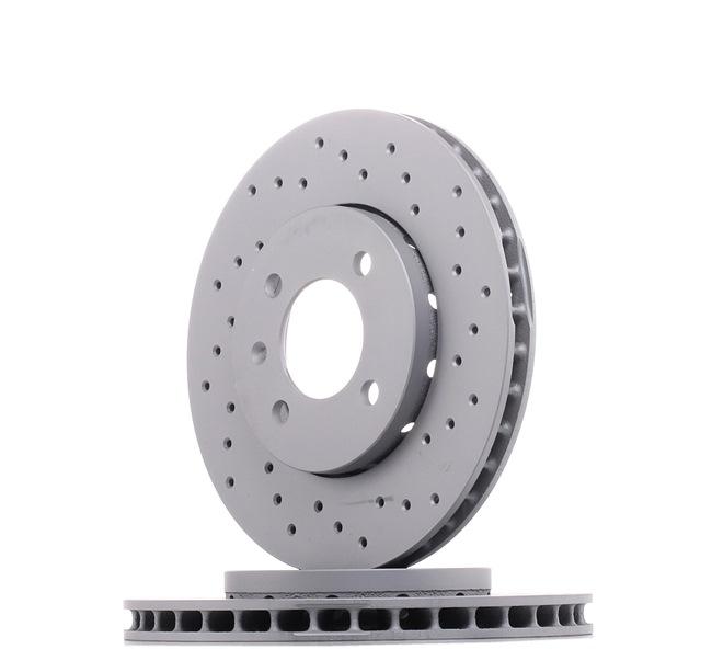ZIMMERMANN 600325052 Disc brake set