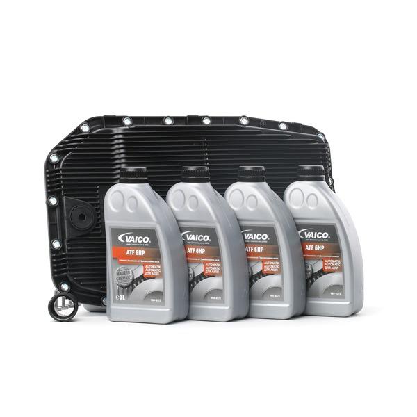 VAICO Filtro de transmisión automática JAGUAR 7L, 6HP26, 6HP28, 6HP32, 6HP26 X, 6HP28 X, 6HP26Z, con junta, Con cant. de aceite para cambio de aceite estándar, con junta anular
