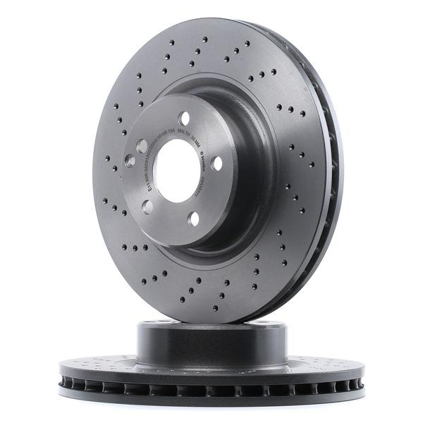 BREMBO 09A35311 Disc brake set