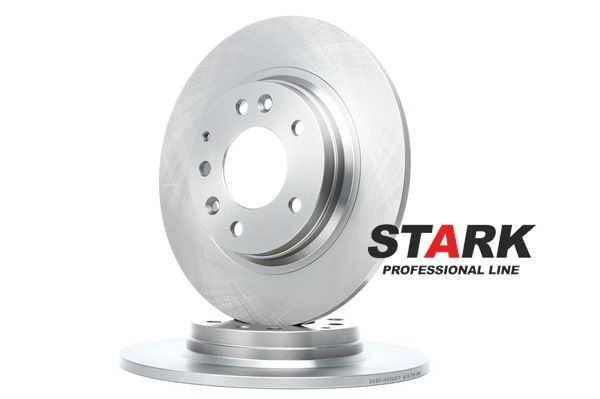 Brake discs and rotors STARK 7645478 Rear Axle, Solid