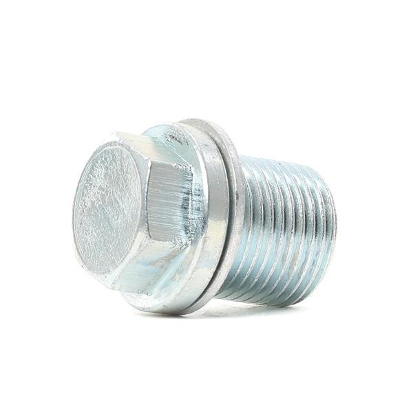 Oil drain plug VAICO 7655824 Outer Thread: M18 x 1,5mm, Original VAICO Quality, M18 x 1,5, Spanner size: 17, with seal ring