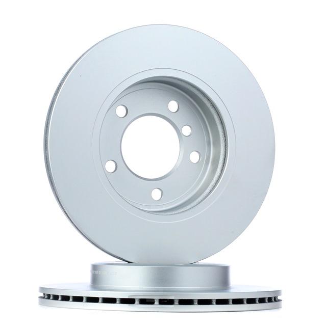 Bremsscheibe Bremsscheibendicke: 22mm, Ø: 300mm mit OEM-Nummer 34116855152