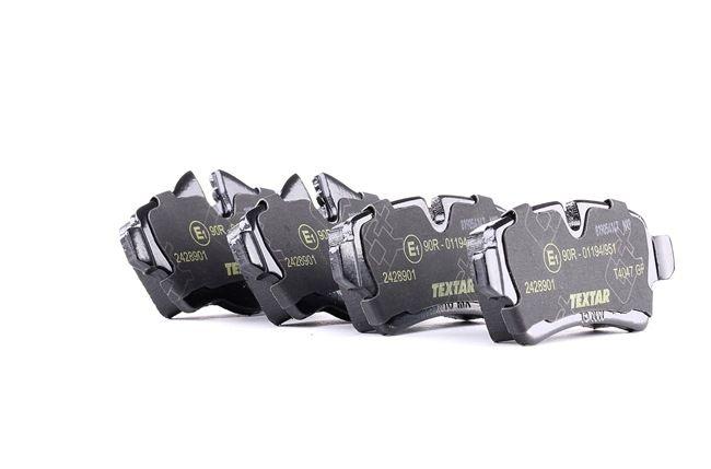 OEM Bremsbelagsatz, Scheibenbremse TEXTAR 8424D1309 für MINI