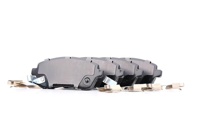 Bremsbelagsatz, Scheibenbremse Breite: 125,7mm, Höhe: 51,6mm, Dicke/Stärke: 16,1mm mit OEM-Nummer 24285
