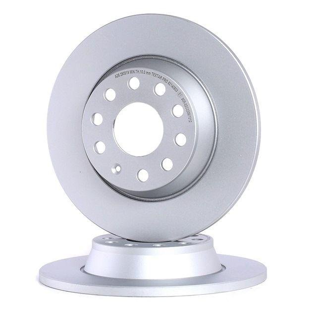 Bremsscheibe Bremsscheibendicke: 12mm, Ø: 282mm mit OEM-Nummer 3CD 615 601