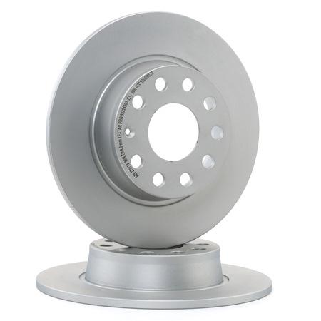 Bremsscheibe Bremsscheibendicke: 10,0mm, Ø: 272mm mit OEM-Nummer 1K0.615.601AA