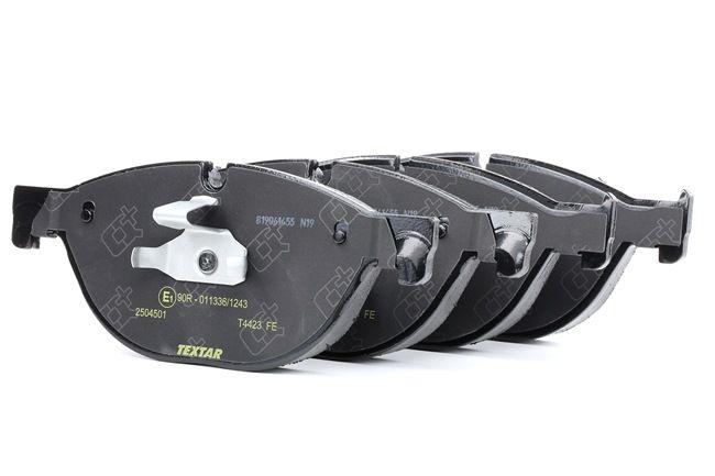 OEM Bremsbelagsatz, Scheibenbremse TEXTAR 2504501